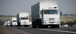 Россия завезла на оккупированный Донбасс «юбилейный» «гуманитарный конвой»