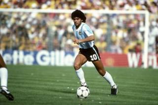 Диего Марадона. Бог футбола