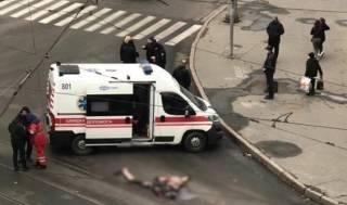 Появилось видео ДТП в Харькове, в котором пенсионерке оторвало голову