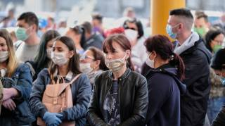 Украина вошла в пятерку стран Европы по распространению коронавируса