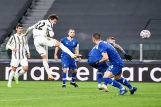 Лига чемпионов: «Динамо» на выезде не смогло устоять перед натиском «Ювентуса»