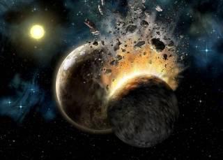 Ученые из Великобритании смоделировали процесс появления Луны
