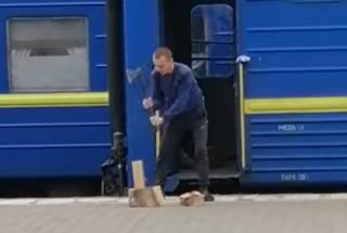 Забавное видео с одесского вокзала озадачило интернет