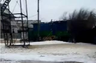 Появилось видео затопленной Федотовой косы на Азовском море