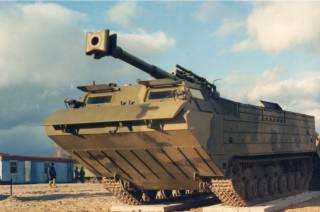 Украинский арсенал: плавающий транспортер ПТС-2