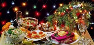 Названа стоимость новогоднего стола в Украине в этом году