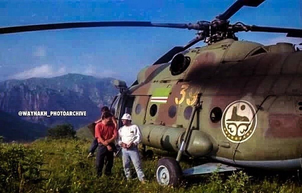 Ми-8Т ВВС Ичкерии