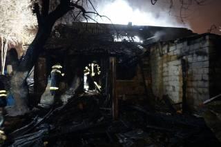 Появилось видео с места смертельного пожара в Днепре