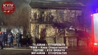 Ночной пожар в Киеве оборвал две жизни