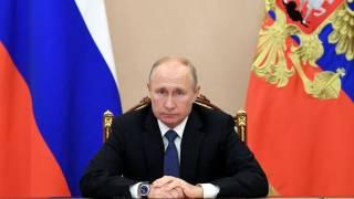 В России измерили рейтинг доверия Путину