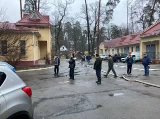В Киеве горела психушка