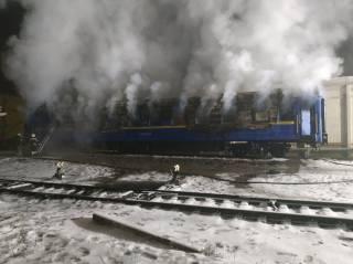 На Полтавщине загорелся вагон поезда. Есть погибшие