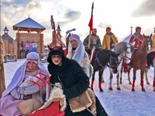 Под Киевом проходят новогодние и рождественские празднования по-древнеславянски