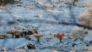 Жертвами оползня в Норвегии стали семь человек