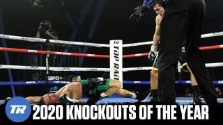 Опубликована впечатляющая подборка боксерских нокаутов 2020 года