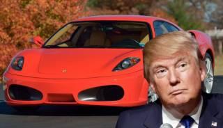 Красный Ferrari Трампа хотят продать за колоссальные деньги