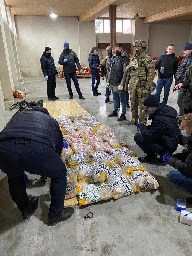 Тонна героина, обнаруженная сотрудниками СБУ во Львове