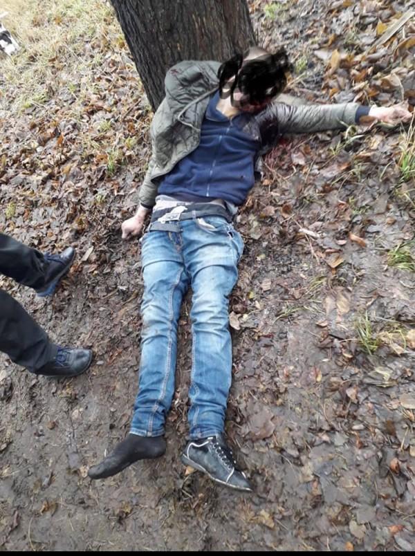 Труп 26-летнего Александра Журавлева, убитого в Павлограде