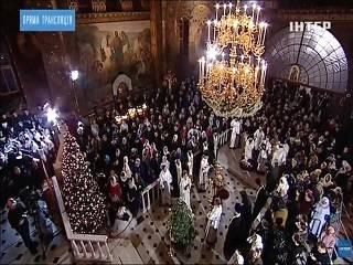 Трансляции Рождественских богослужений посмотрели более 6 млн украинцев