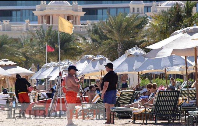 Глава КСУ Александр Тупицкий на отдыхе в Дубаи