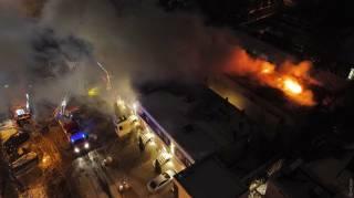 В Одессе сгорела очередная гостиница. Есть жертвы