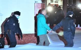 Появилось видео Навального в «Матросской тишине»