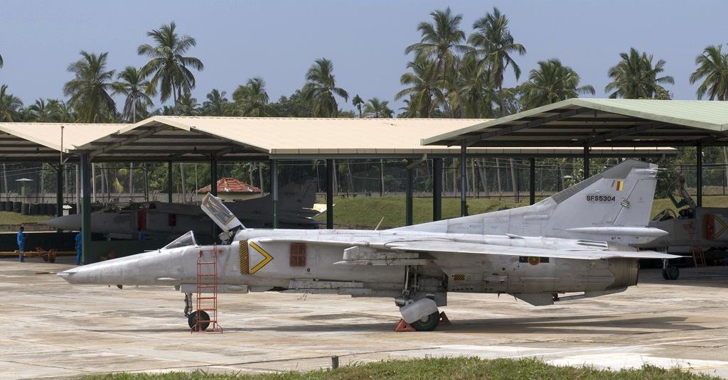 самолеты Миг, Шри-Ланка