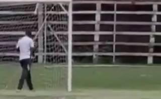 В Замбии произошел очень необычный футбольный инцидент