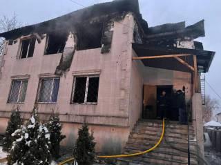 Названа причина пожара в несуществующем доме престарелых в Харькове