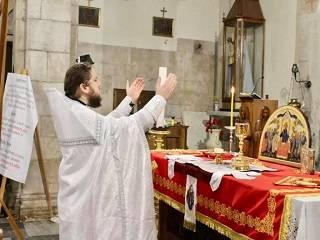 В Италии священник УПЦ совершил первую Литургию для новосозданной общины в регионе Тоскана
