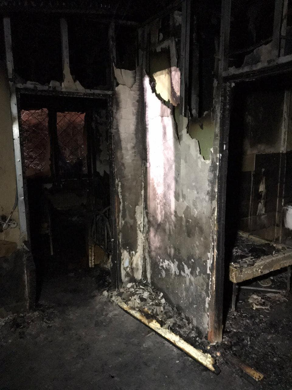 Дом престарелых в Харькове, на пожаре в котором погибли 15 человек