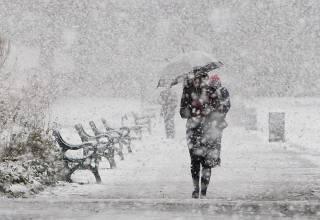 В Киеве несколько дней будет валить снег: появился прогноз синоптиков
