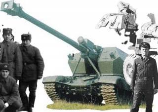«Дана» — единственная колесная САУ советской армии