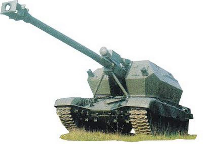 155-мм опытная САУ A40 Himalaya