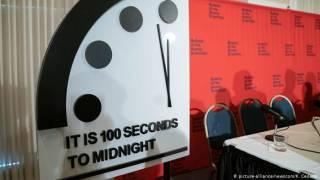 «Часы Судного дня» показали, что для человечества еще не все потеряно