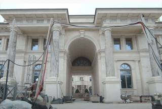 «Один сплошной бетон»: журналисты показали «дворец Путина» изнутри