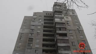 В центре Днепра самоубийца тяжело покалечила прохожего
