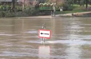 В Париже началось наводнение