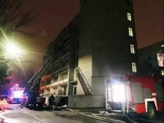 Главврач больницы в Запорожье озвучил причину трагического пожара