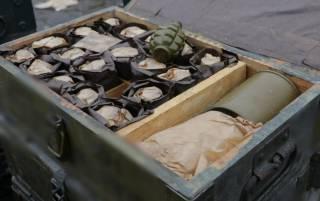 Правоохранители обнаружили в Мариуполе целый тайный склад с оружием