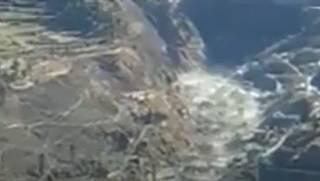Появилось видео схода ледника в Индии, который накрыл полторы сотни людей