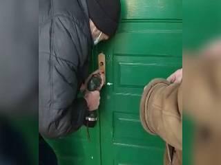 На Волыни активисты ПЦУ захватили храм УПЦ