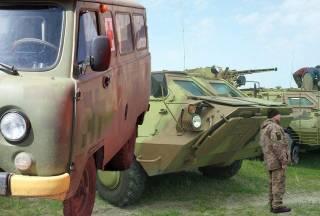 Украинский арсенал: машины медицинской эвакуации