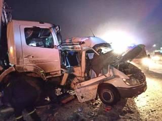 В Ивано-Франковской области в ДТП попал пассажирский микроавтобус – погибли люди