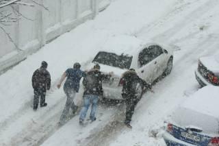 В Украине ограничили движение транспорта сразу в нескольких областях