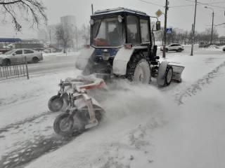 Снегопады в Киеве не утихнут как минимум до конца недели
