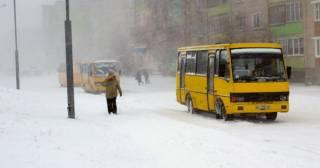 В Тернополе водители маршруток отказываются брать детей, заставляя тех мерзнуть на улице