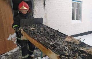 На Житомирщине пылал только-только отремонтированный детсад. Благо дети были на улице