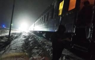 На Житомирщине загорелся пассажирский поезд. Благо, обошлось без жертв