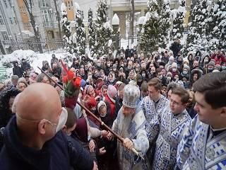 Во Львов с архипастырским визитом приехал предстоятель УПЦ